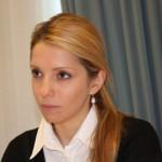 Eugenia Timoschenko, Tochter der inhaftierten, ehemaligen Präsidentin der Ukraine, Julia Timoschenko