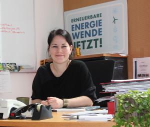 Die klimapolitische Sprecherin von Bündnis90/DieGrünen macht sich für erneuerbare Energien stark. Foto: Frank M. Wagner