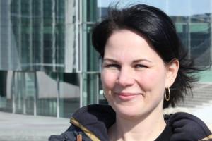 Annalena Baerbock, klimapolitische Sprecherin Bündnis90/Die Grünen im Deutschen Bundestag